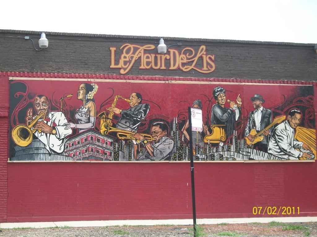 Mural in Bronzeville